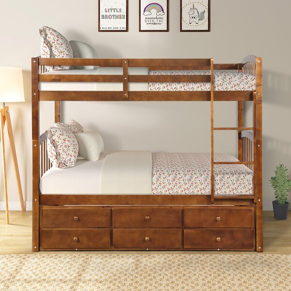 Mccutchen Twin over Twin Loft Bed by Harriet Bee
