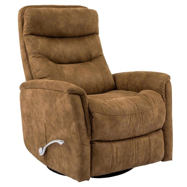 Review Cammie Manual Swivel Glider Recliner