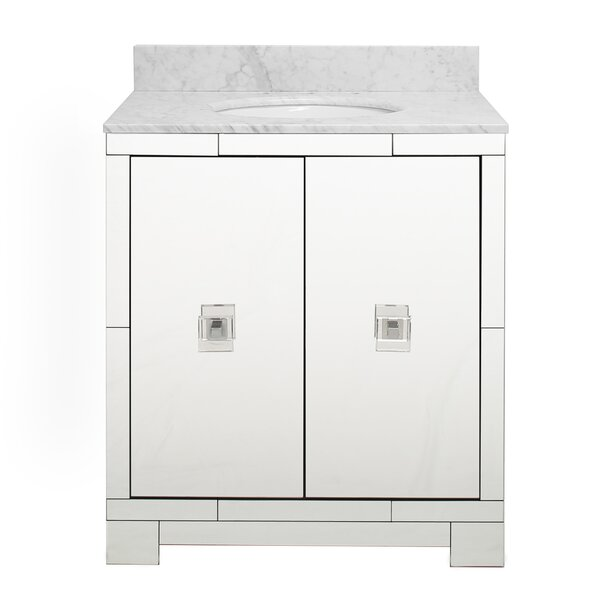 Landon 31 Single Bathroom Vanity Set by Worlds Away
