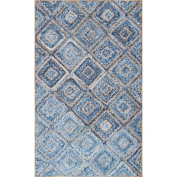 Merepoint Blue Area Rug by Breakwater Bay