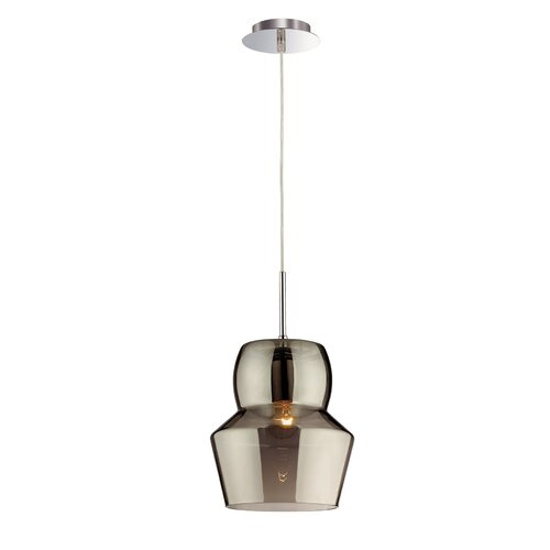Kwok 1-Light Schoolhouse Pendant Ebern Designs Shade Colour: