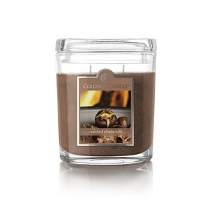 Roasted Chestnuts Oval Scented Jar Candle