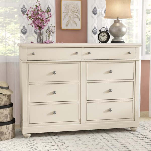 8 Drawer Double Dresser by Feminine French Country