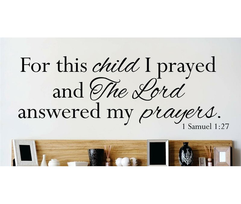 Bible Verse Wall Decal