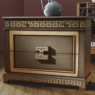 Raygoza 3 Drawer Chest By World Menagerie