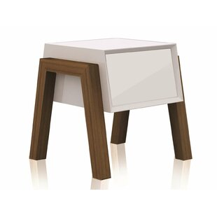 Bargain Figo End Table By Casabianca Furniture