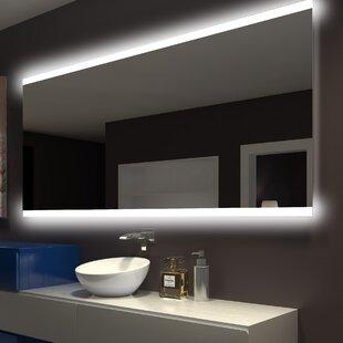 Top Keshwar Backlit Bathroom/Vanity Mirror ByOrren Ellis