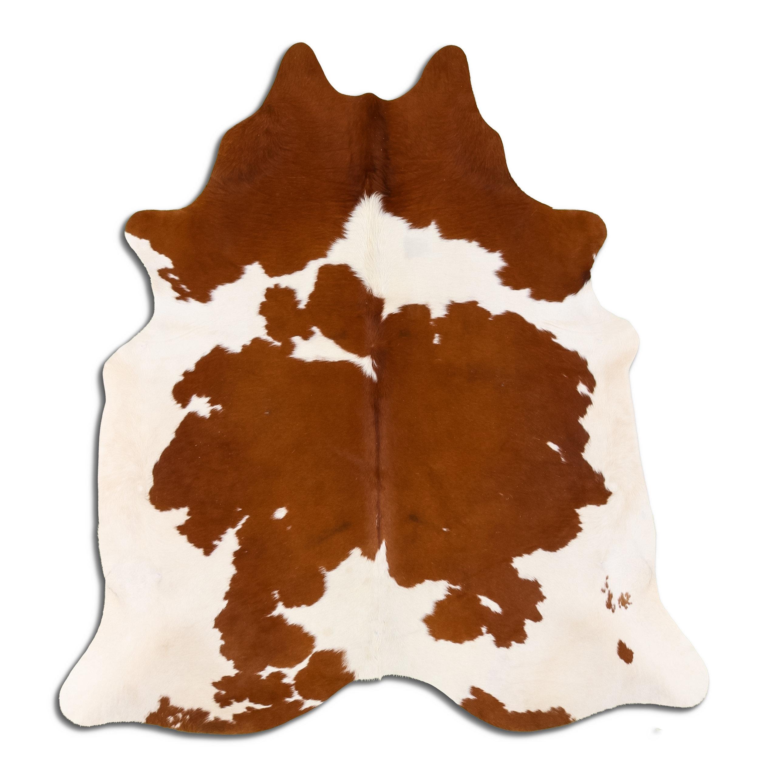 Union Rustic Durden Handmade Leather Brown Area Rug Wayfair