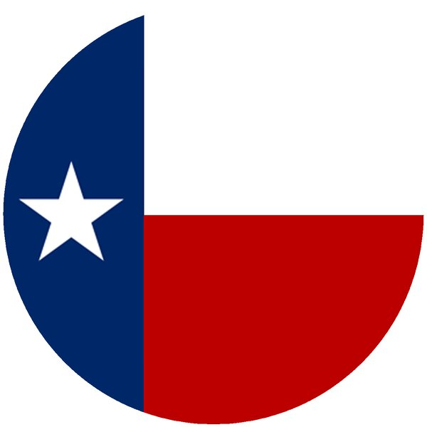 Texas Flag Trivet by Andreas Silicone Trivets