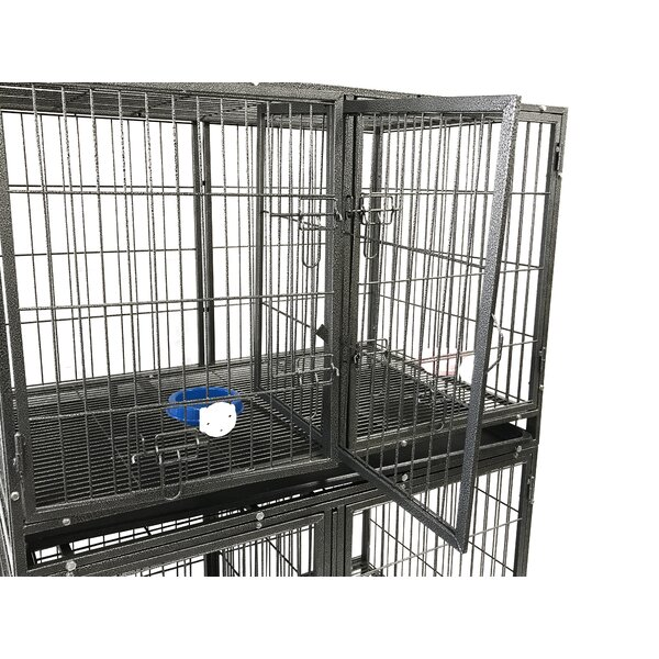44 Heavy Duty Stackable Pet Crate by Go Pet Club