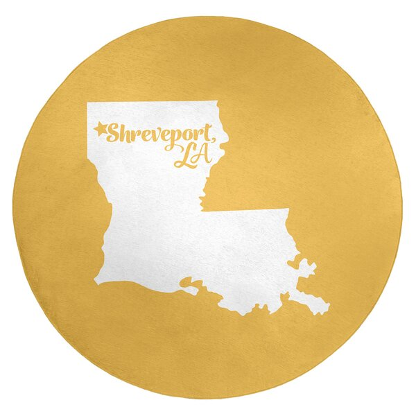 Shreveport Louisiana Poly Chenille Rug