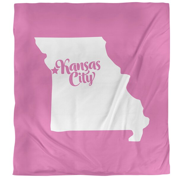 Missouri Kansas City Single Duvet Cover