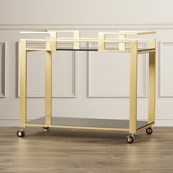 Distefano Bar Cart by Everly Quinn