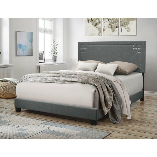 Wabansia Fabric Queen Upholstered Standard Bed by Charlton Home