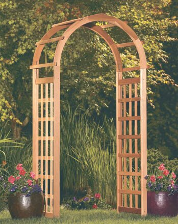 Glendale Wood Arbor by Arboria