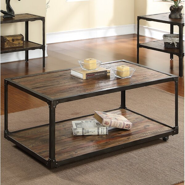 Wide Drusilla End Table By 17 Stories