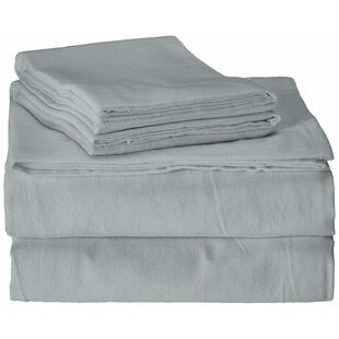 Read Reviews Flannel 100% Cotton Sheet Set By Brielle