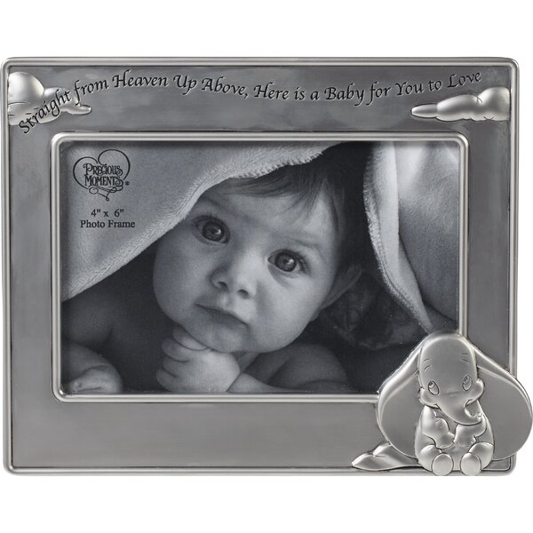 """Straight From Heaven Above, Here Is A Baby For You To Love"" Picture Frame by Precious Moments"