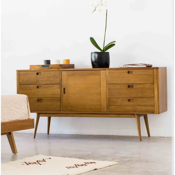 Halesowen 6 Drawer Combo Dresser by Corrigan Studio