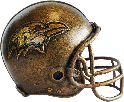 NFL Helmet Sculpture by Tailgate Toss