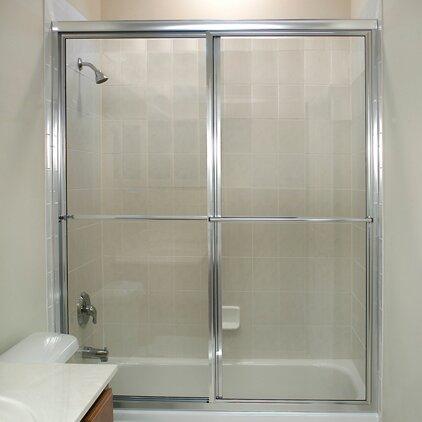 Newport Series 53 x 58 Sliding Framed Tub Door by Coastal Shower Doors