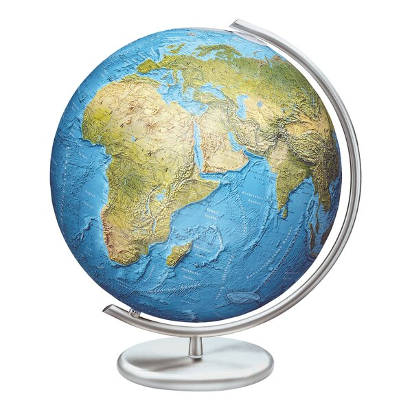 Stuttgart Illuminated Glass Desktop Globe by Columbus Globe