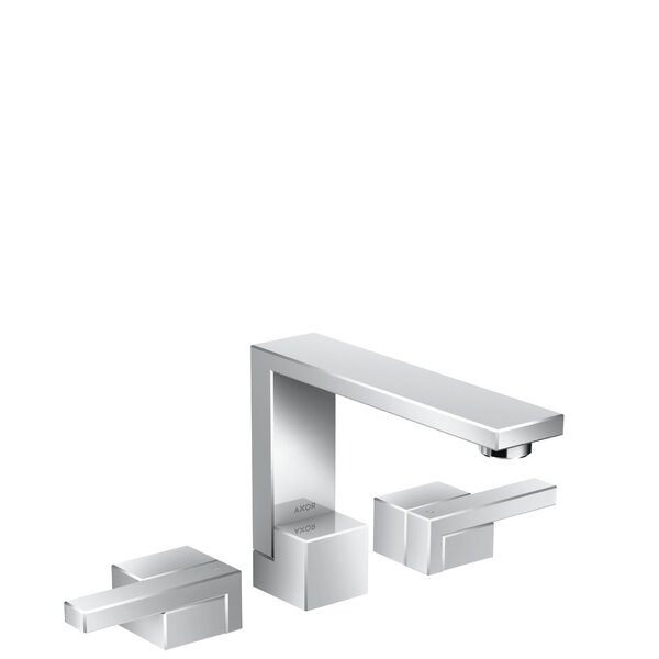 Edge Avantgarde Widespread Bathroom Faucet with Drain Assembly