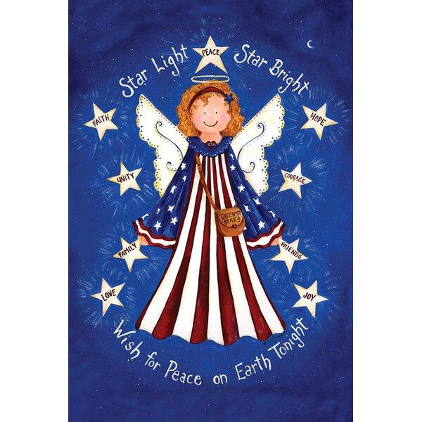 Star Light Star Bright Garden flag by Toland Home Garden