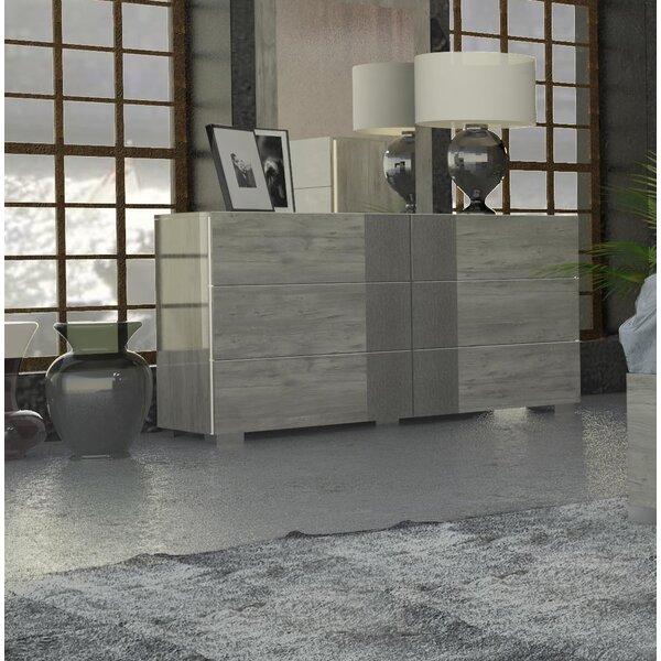 Dorcheer 6 Drawer Double Dresser by Orren Ellis
