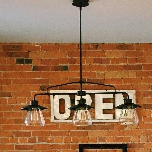 Bessie Zoey 3-Light Kitchen Island Pendant by Trent Austin Design