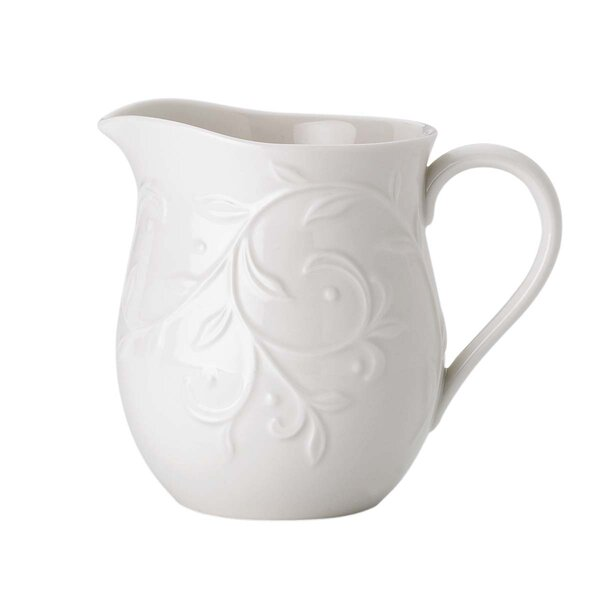 Opal Innocence Carved 14 oz. Creamer by Lenox