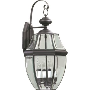 Order Rocket 4-Light Outdoor Wall Lantern By Alcott Hill