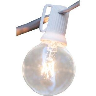 Compare 25-Light 25 ft. Globe String Light By Wintergreen Lighting