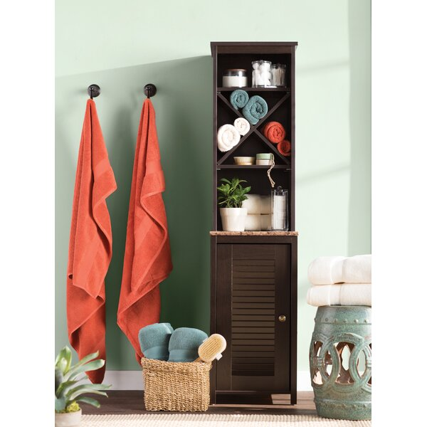 Millersburg 14.75 W x 60.62 H Linen Tower by Andover Mills
