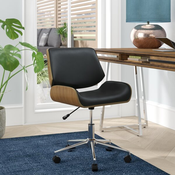Kade Mid-Back Desk Chair by Wade Logan