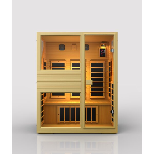 Ensi 3 Person FAR Infrared Sauna by JNH Lifestyles