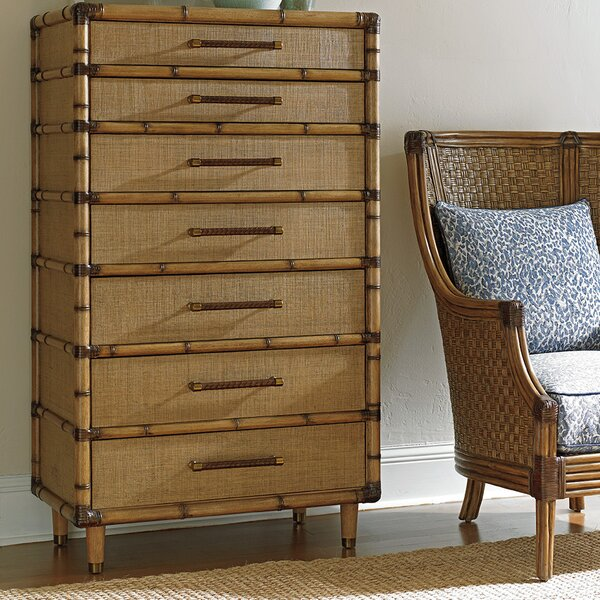 Twin Palms 7 Drawer Chest By Tommy Bahama Home by Tommy Bahama Home Great Reviews