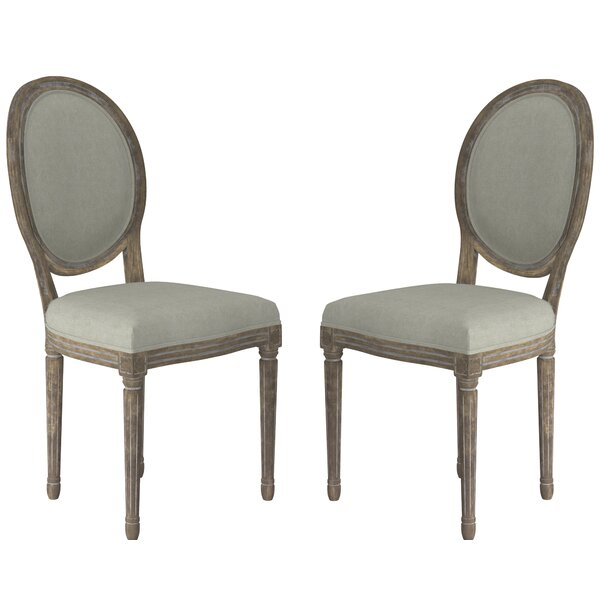 Babineaux Upholstered Dining Chair (Set of 2) by Ophelia & Co. Ophelia & Co.