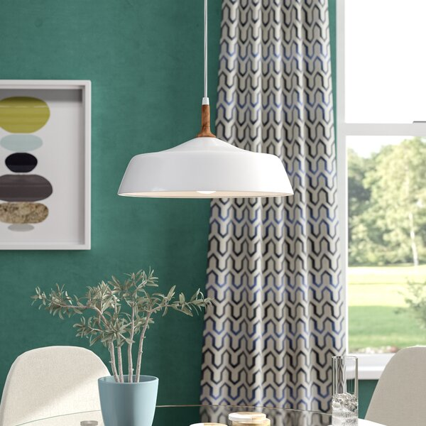 Evelyn 1-Light Inverted Pendant by Langley Street