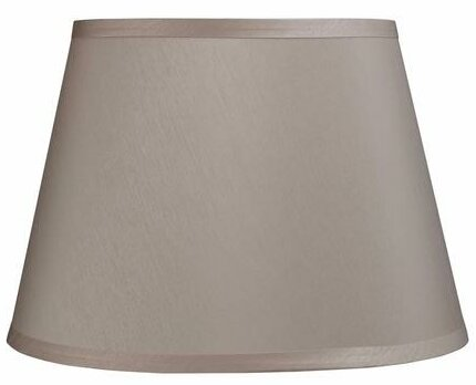 9 H Faux Silk Fabric Empire Lamp Shade ( Spider ) in Beige
