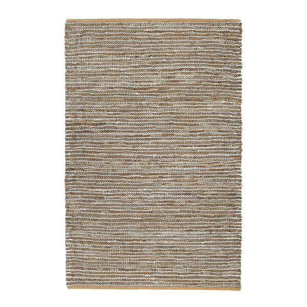 Chambery Hand-Woven Tan/Brown Area Rug by Gracie Oaks