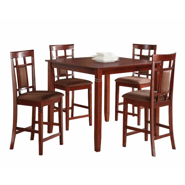 Jeter 5 Piece Dining Set by Charlton Home
