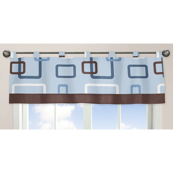 Geo 84 Curtain Valance by Sweet Jojo Designs