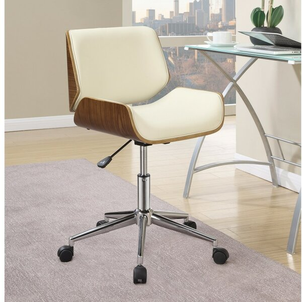 Gephart Small-Back Office Chair by Wrought Studio
