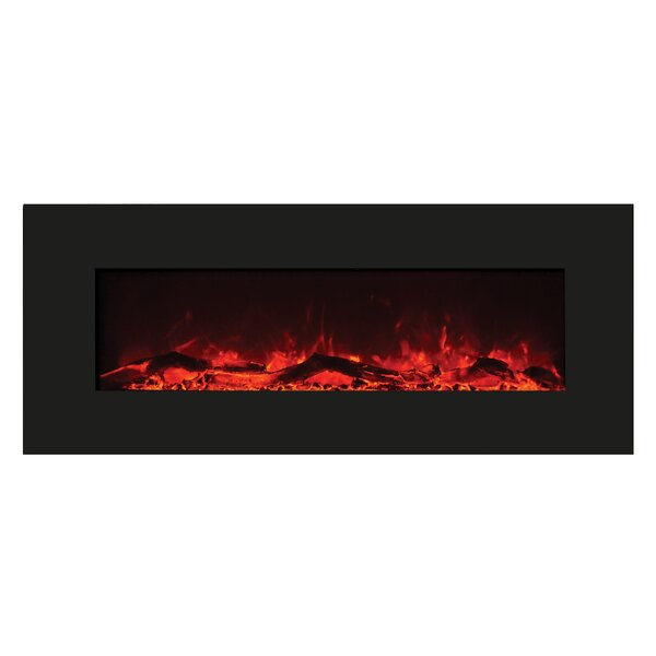 Iaeger Wall Mounted Electric Fireplace By Orren Ellis