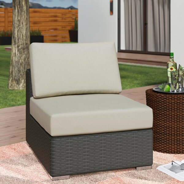 Tripp Patio Chair with Sunbrella Cushions by Brayden Studio
