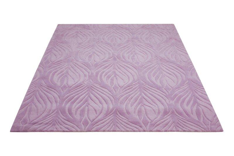 Mercer41 Jemma Hand Tufted Lavender Area Rug Reviews Wayfair
