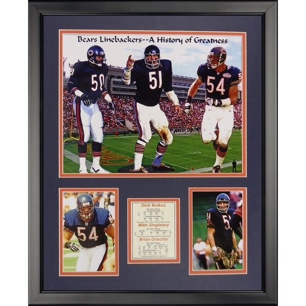 NFL Chicago Bears - Monsters Midway Framed Memorabili by Legends Never Die