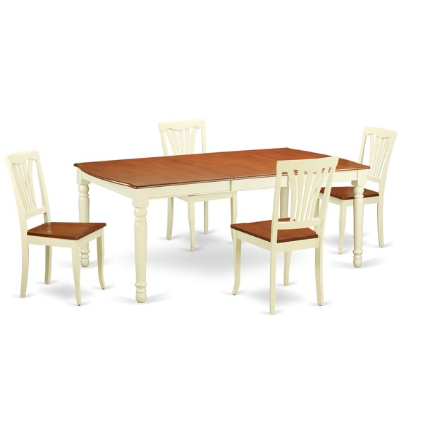 Carmel 5 Piece Dining Set by August Grove