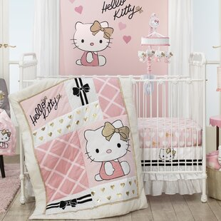Find Hello Kitty 3 Piece Crib Bedding Set By Lambs & Ivy